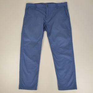 Dockers alpha collection blue khakis, athletic
